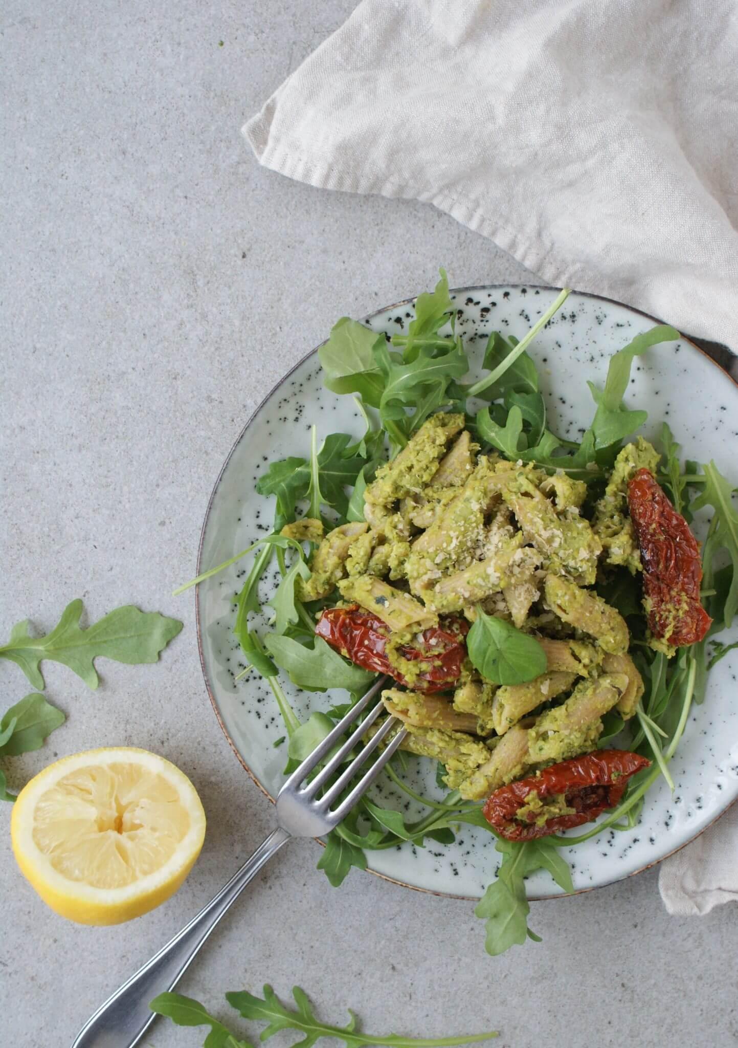 pasta-met-erwtenpesto