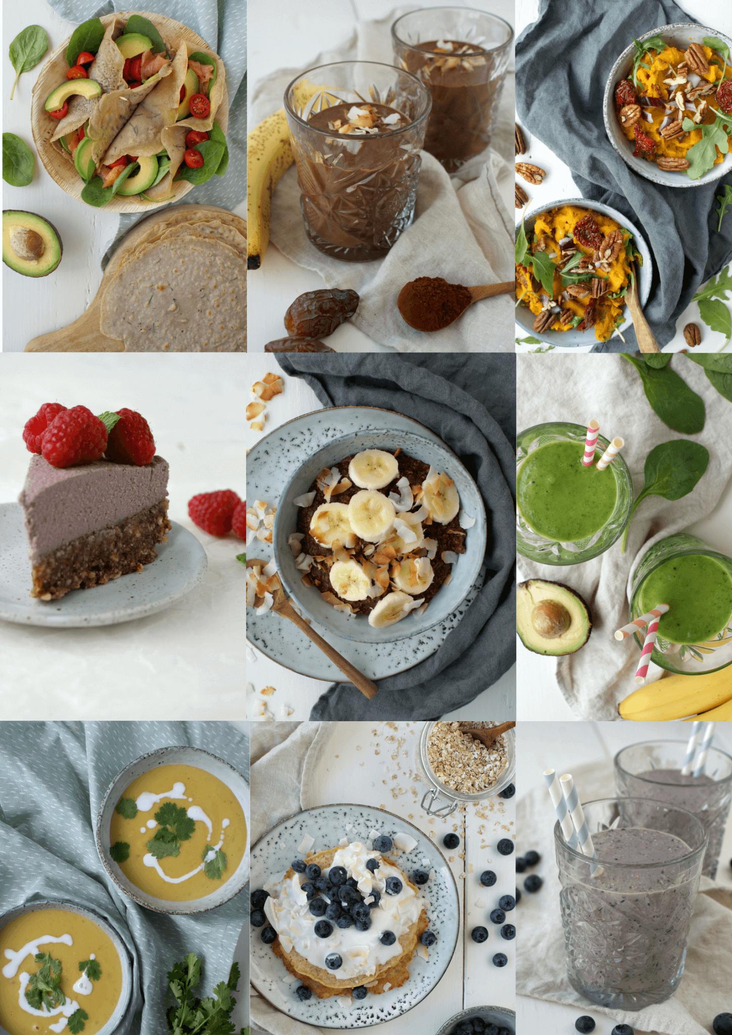 Voorbeelden recepten ebook