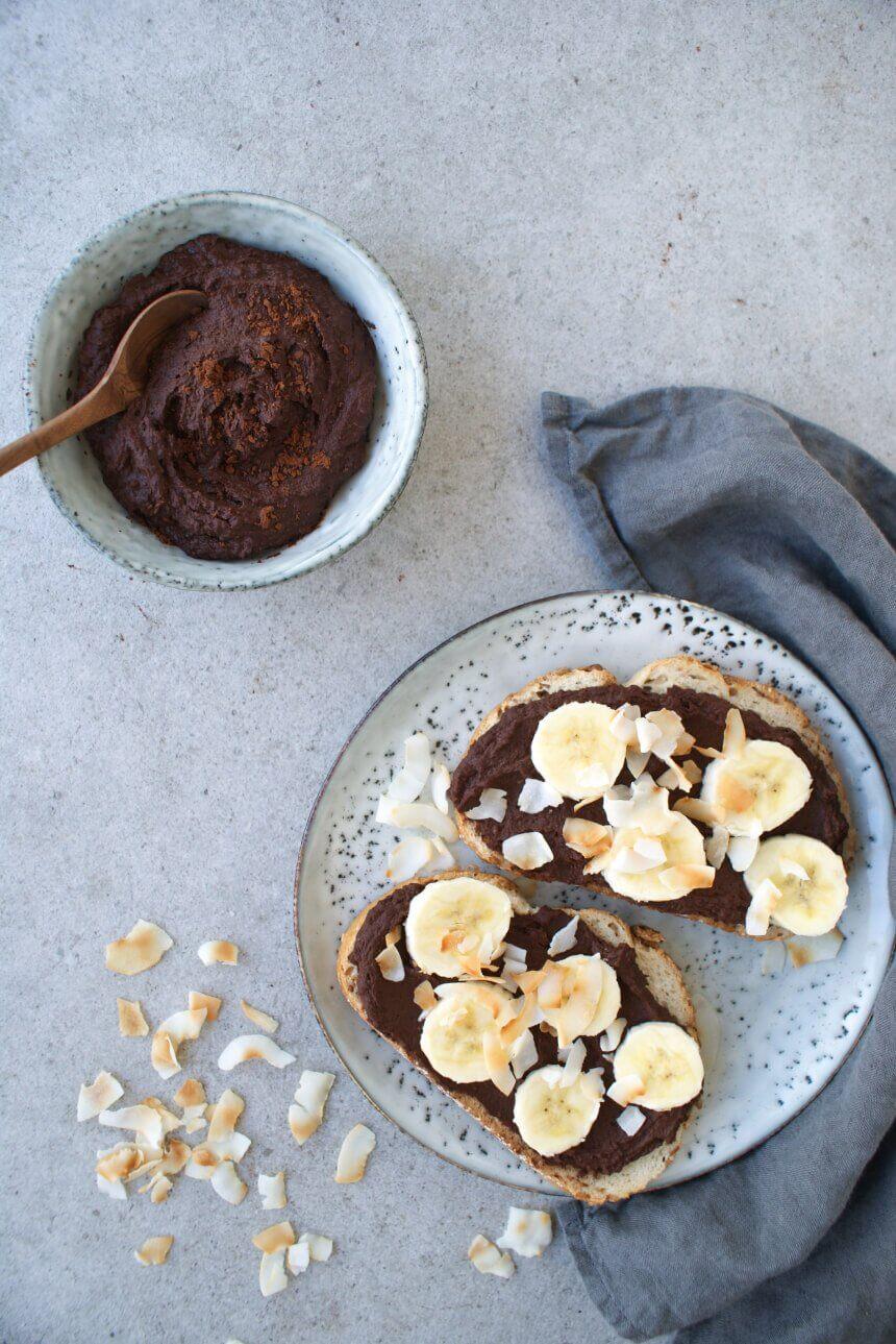 chocolade-hummus
