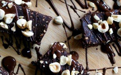 Chocolade hazelnoot repen