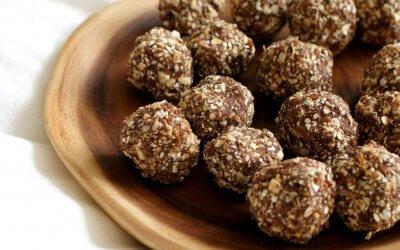 Bliss balls met granola
