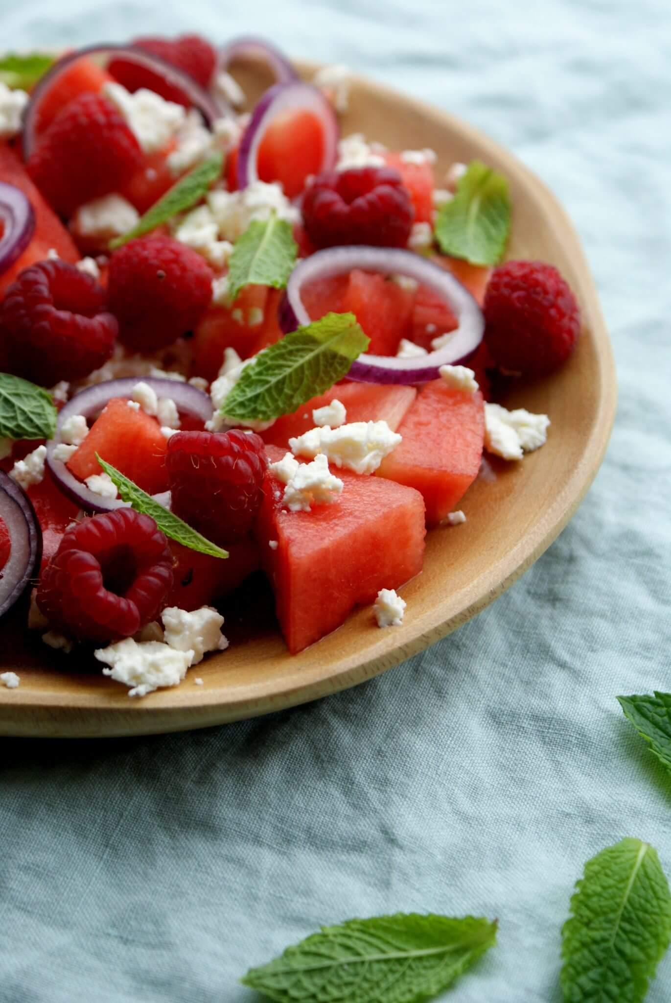 salade-met-watermeloen