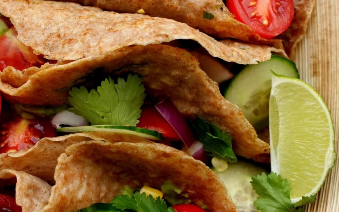 Vegan Mexicaanse wraps