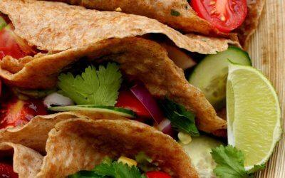 Vegan Mexicaanse wraps