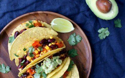 Gezonde vegan taco's