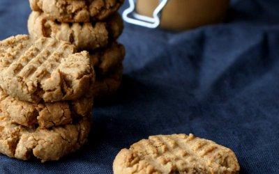 Vegan pindakaas koekjes