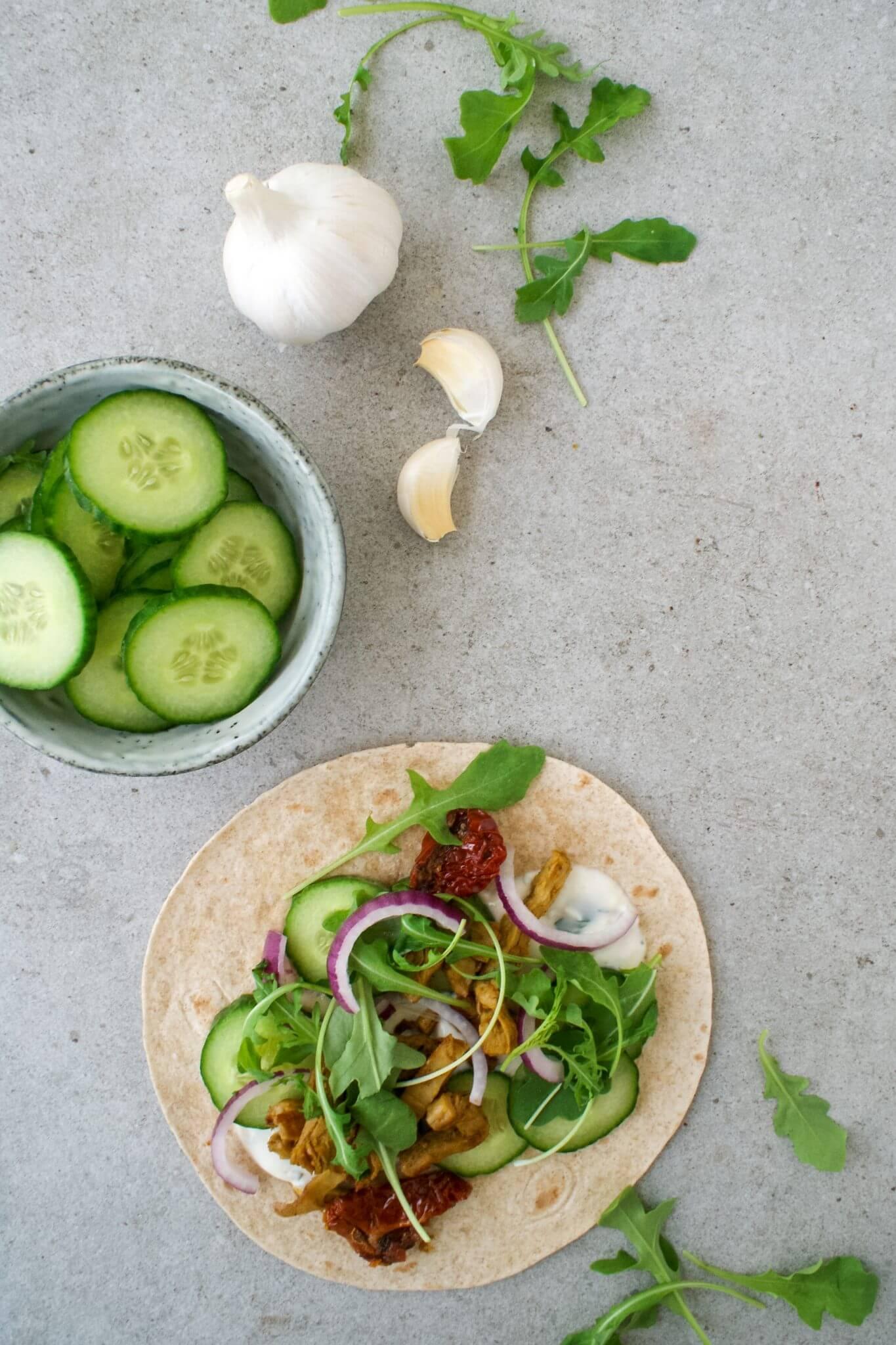 wraps-met-vegetarische-shoarma