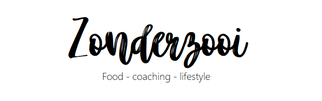 Zonderzooi - Food, Coaching & Lifestyle