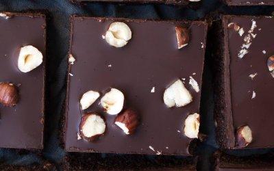 Vegan chocolade brownies
