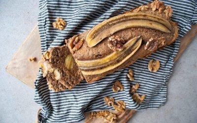 Bananenbrood met walnoten
