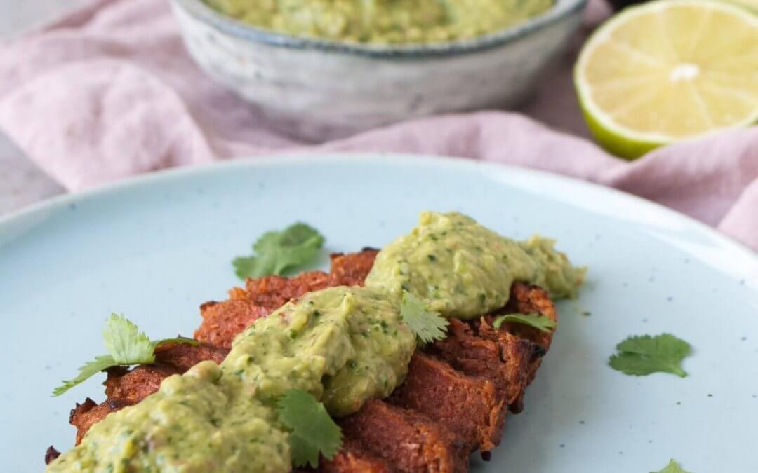 Vega biefstuk met avocado chimichurri