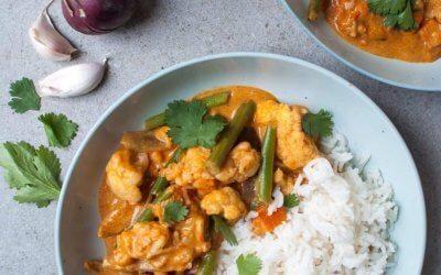 Makkelijke vegetarische curry