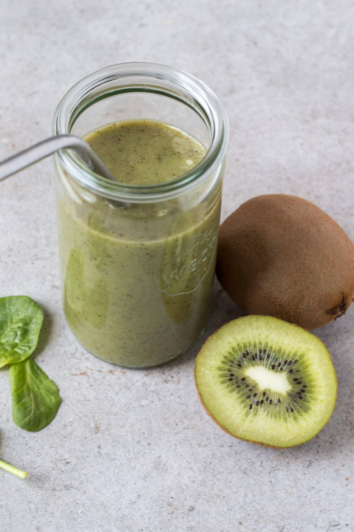smoothie-kiwi-spinazie