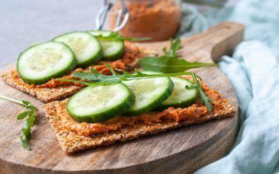 6x gezond broodbeleg