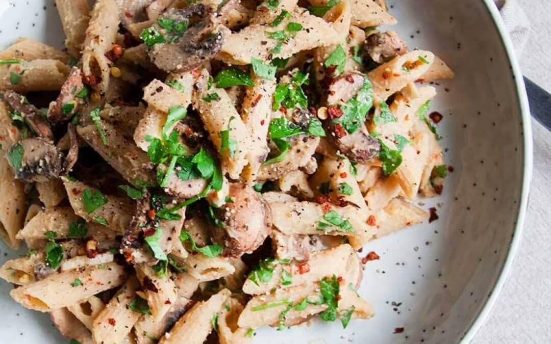 6x vegetarische pasta