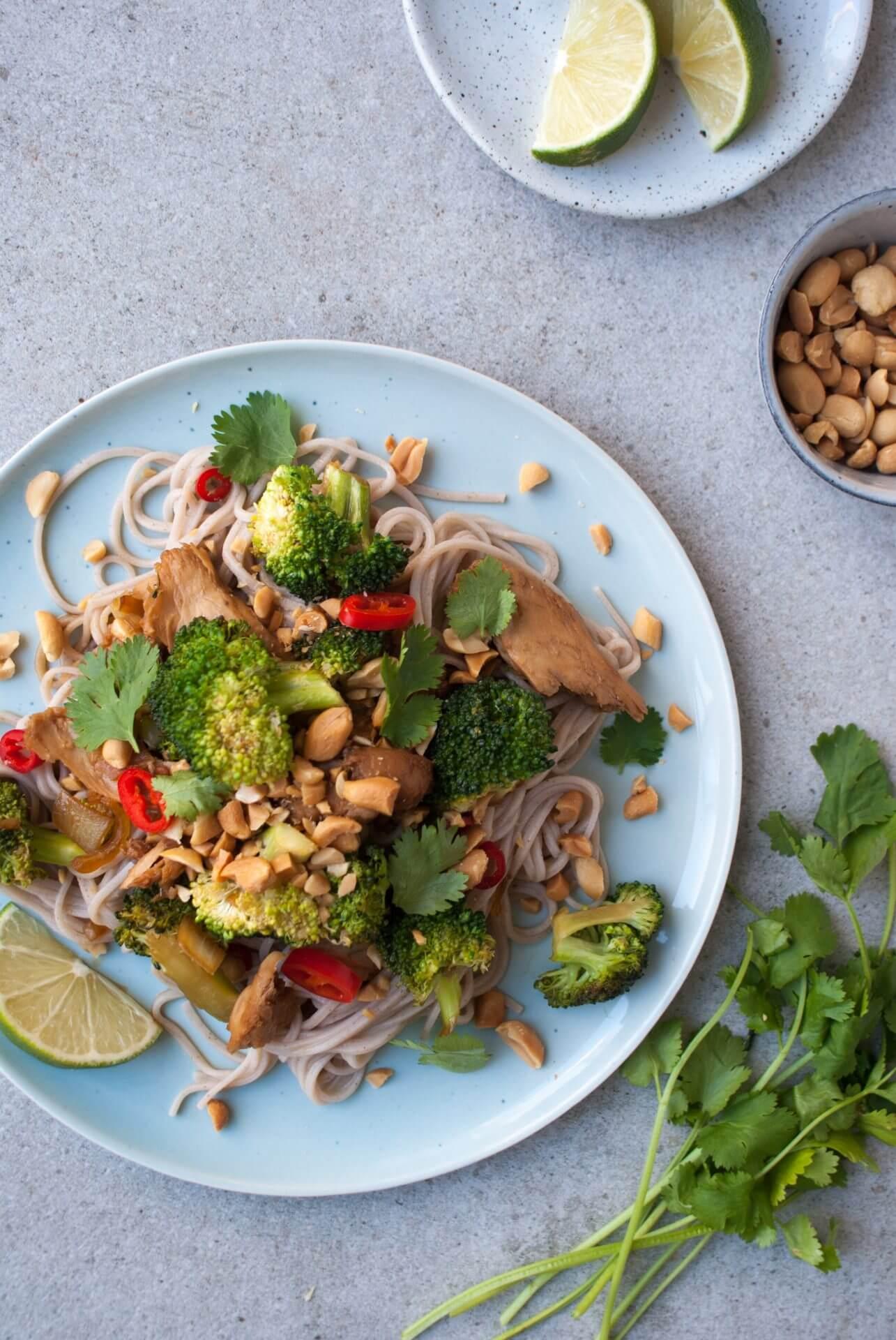 gerechten-met-vegetarische-kip