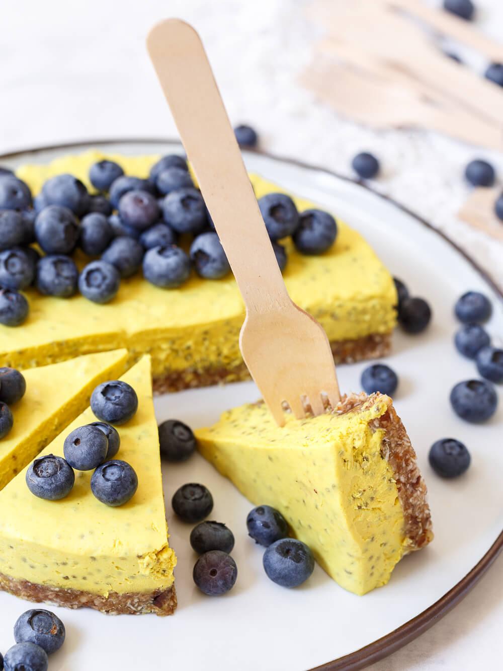 vegan-gember-citroencheesecake