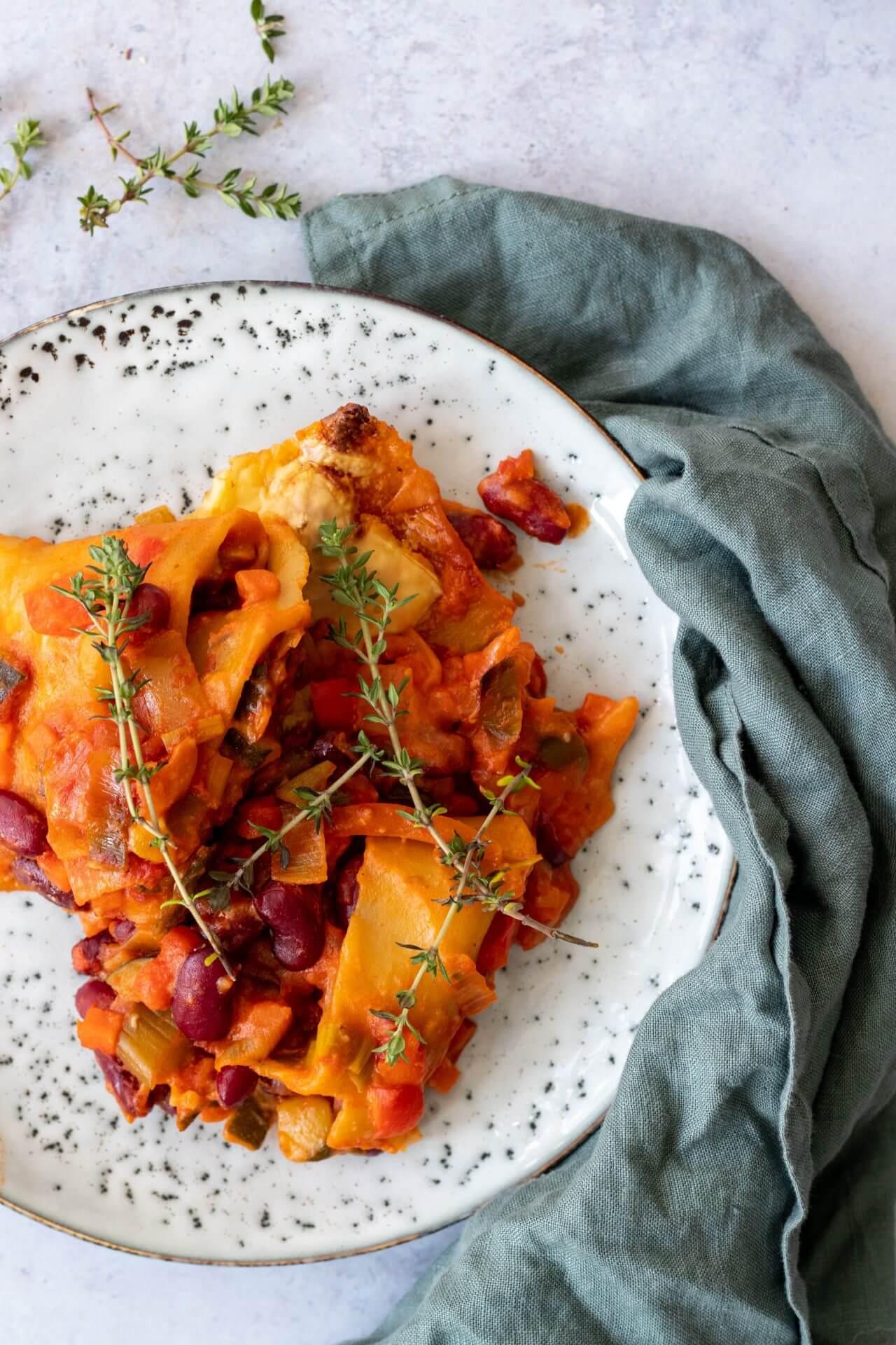 gezonde-vegan-lasagne