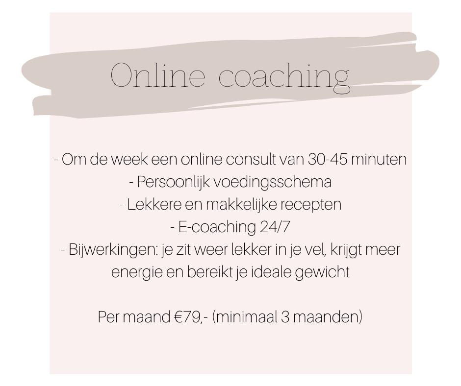 online coaching zonderzooi