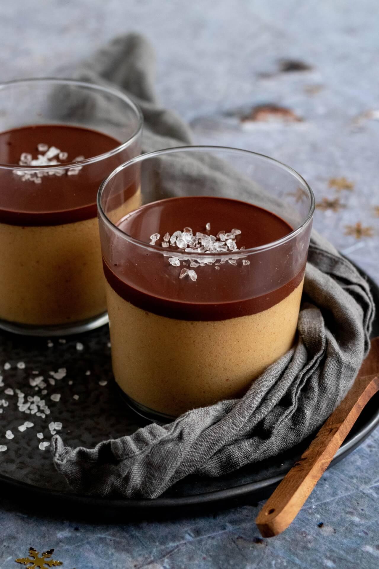 pindakaas-mousse-met-chocolade
