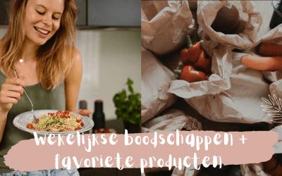 Mijn wekelijkse boodschappen en favoriete producten – vlog