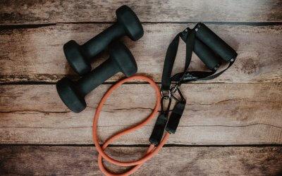 Sporten met de gordijnen dicht – column